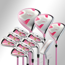 New womens Golf Clubs U100 complete clubs set Driver+fairway wood+irons Graphite Golf shaft and headcover Free shipping