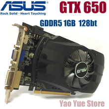 Buy Asus GTX-650-FMLII-1GB GTX650 1GB GTX 650 1G D5 DDR5 128 Bit PC Desktop Graphics Cards PCI Express 3.0 computer Graphics Cards for $36.98 in AliExpress store
