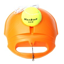 Single Tennis Trainer Set Training Aids Practice Partner Equipment Tennis Training Partner for Beginner 2 Color(China)