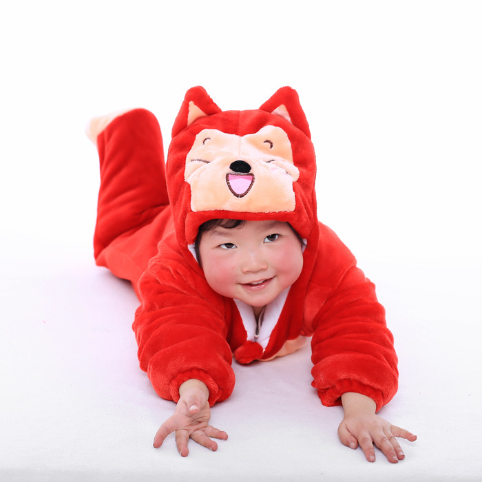Fashion cute baby fox clothing hooded animal costume infant baby girl clothes winter outfit <br><br>Aliexpress