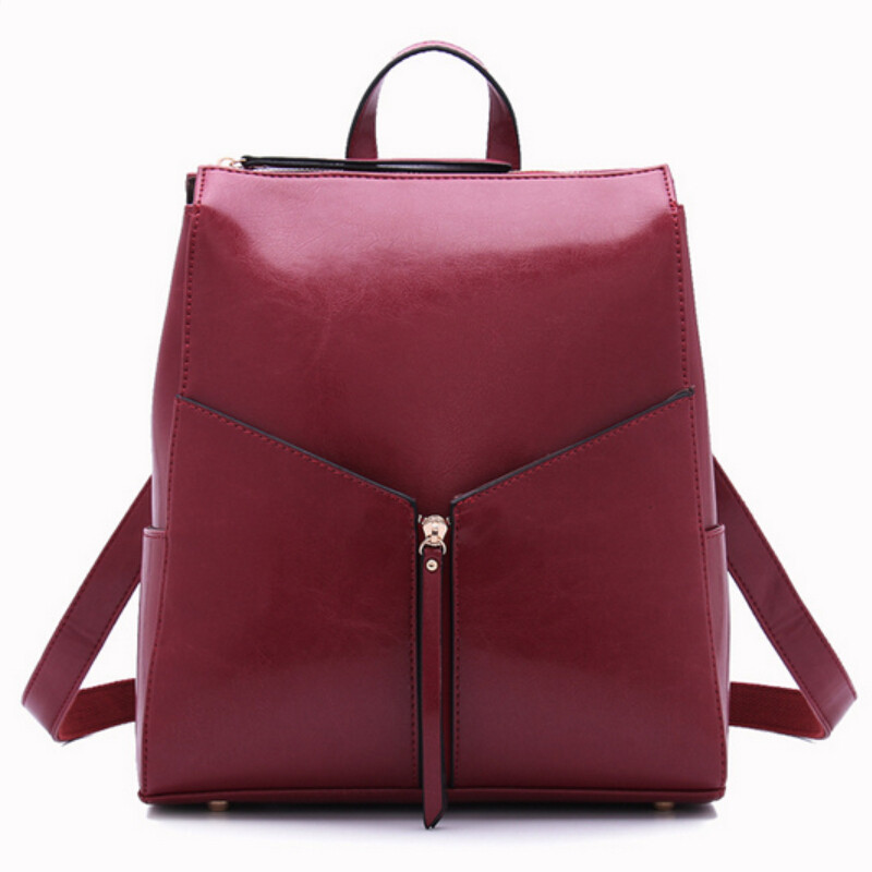 high quality girls leather backpack women travel bags women leather bag bagpack backpacks for teenage girls shoulder bags<br><br>Aliexpress