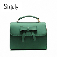Buy Sisjuly Designer Luxury Handbags Women Bag Designer Bowknot Shoulder Crossbody Bags Female Satchel Ladies Leather Messenger Bag for $11.70 in AliExpress store