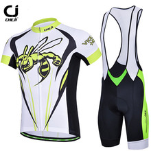 Buy CHEJI Breathable Riding Cycling Jerseys Quick-Dry Sport Roupa MTB Road Cycling Jersey Bike Clothing +3D Gel Pad Shorts Bid Sets for $35.35 in AliExpress store
