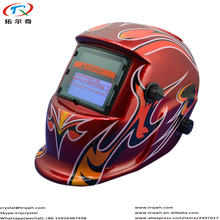Red Face Fast Shipping CR2032 Lithium Battery Replace Low Power Warning Self-check Function TRQ-HD06-2233FF Model Welding Helmet(China)