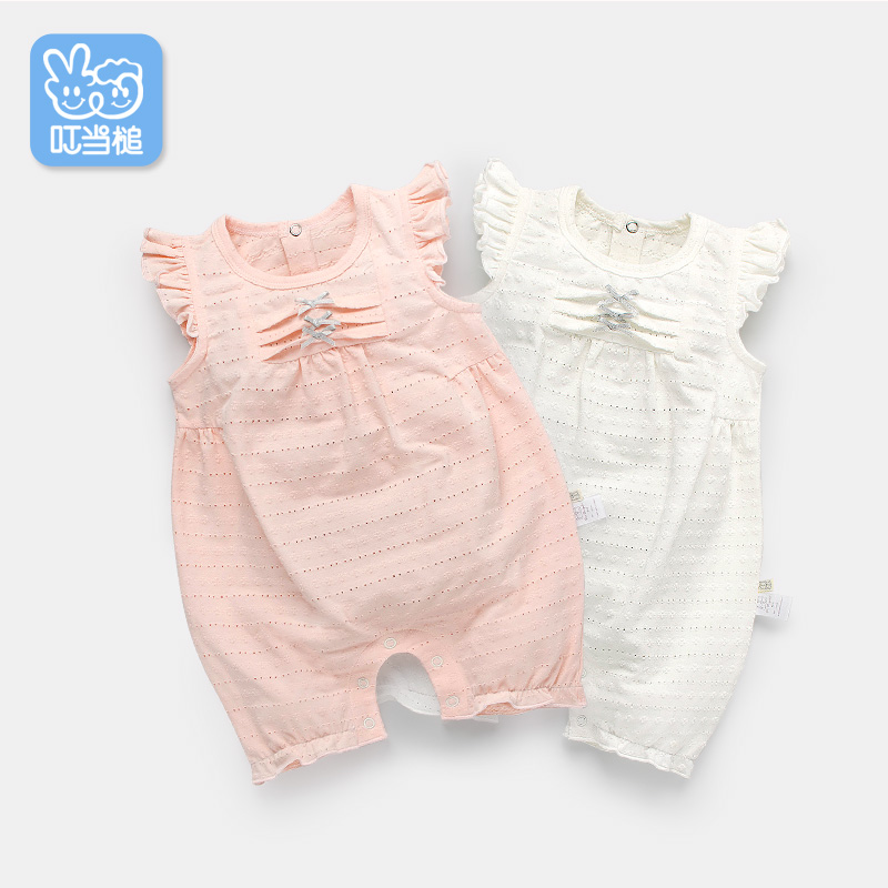 Dinstry Baby clothes body clothing summer newborn baby romper<br>