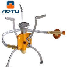 Outdoor Camping Picnic Gas Stove Folding Hinge Support Frame, High Strength Lightweight Portable Cook Out Equipment For Travel(China)