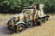 HobbyBoss model 83839 1/35 Soviet BA-6 Armor Car