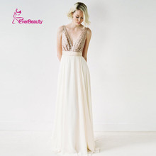 Charmming 2016 New Fashion Bridesmaid Dresses Chiffon with Top Champagne Gold Backless with Bow Prom Dresses