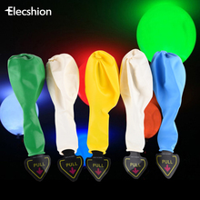 Elecshion Led Decorative New Year Balloon Night Light Christmas Battery Holiday Party Garland Plasma Ball Lights & Lighting(China)
