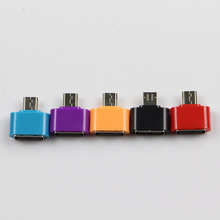 Mini OTG Adapter USB 2.0 To Micro USB Male To Female Adapter Converter Connector Data Sync OTG Tool For Flash Keyboard Mouse