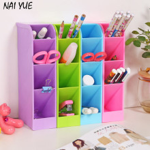 NAI YUE 2017 Hot Sale Desk Table Drawer Organizer Storage Divider Box Tie Bra Socks Cosmetic Plastic