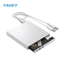 External USB 2.0 DVD Drive DVD-RW Burner Optical DriveWriter Recorder Portable DVD ROM Player for Laptop Computer PC Windows(China)