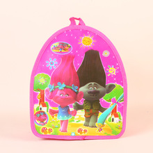 1pc 29*23*13cm Trolls SchoolBag Daypack PP Gift Bag Cartoon Theme Kid Boy Birthday Party supplier Party Favors