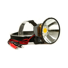 12V External DC Power LED Headlamp 2 Light Model Headlight Diffused Lighting Large Spot Light Head Flashlight Torch