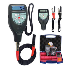 Magnetic Induction F Eddy Current NF Probe Coating Thickness Gauge Paint Meter 0 ~ 1250um