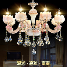 New Listing stylish and luxurious cozy living room restaurant bedroom ceiling lamp crystal chandelier zinc alloy lighting