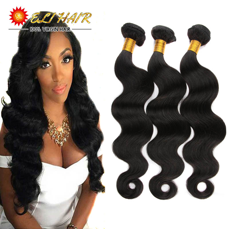 Body Wave Natural Color Brazilian Body Wave With Closure And Bangs 8A Grade Virgin Unprocessed Human Hair 3 Bundles With Closure<br><br>Aliexpress