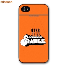 minason A Clockwork Orange Cover case for iphone 4 4s 5 5s 5c 6 6s 7 8 plus samsung galaxy S5 S6 Note 2 3 4 S5042(China)