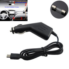 NEW 1.5A 5V Car car-covers Vehicle Mini USB Power Charger Adapter for GPS SAT Navigator(China)