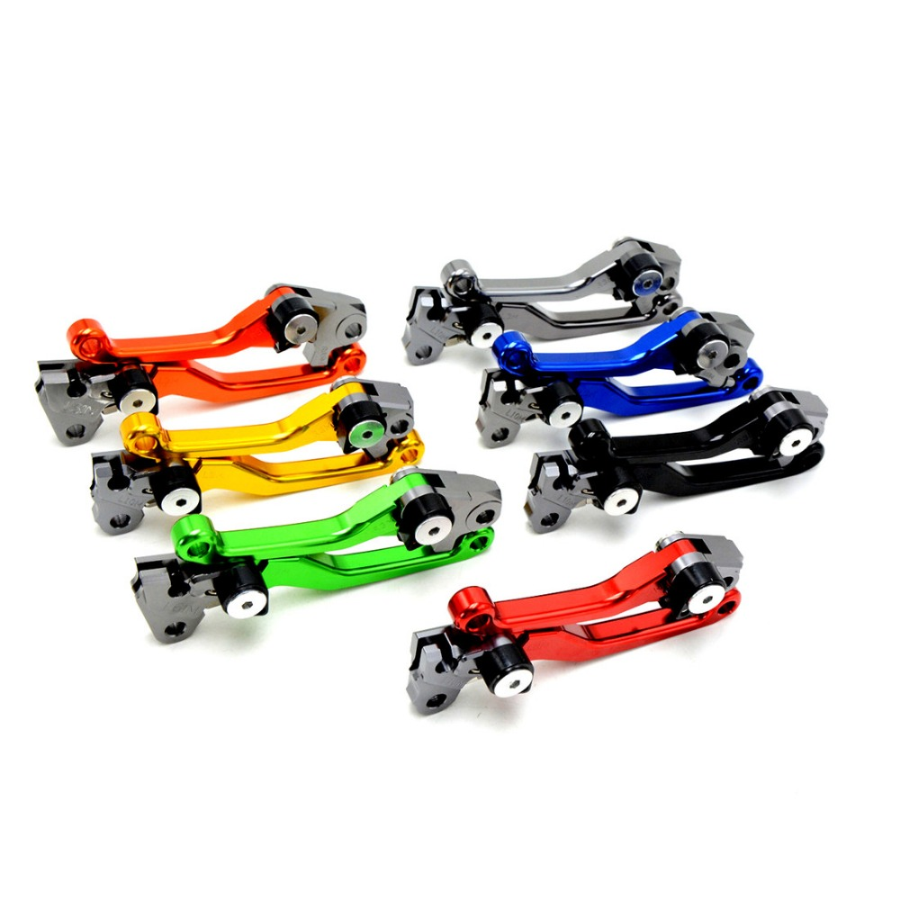 new foldable motorbike brake clutch levers red dirt bike cnc clutch brake lever KAWASAKI NINJA 250 2008 2009 2010 2011 2012