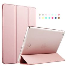 Zoyu luxo pu leather case para ipad air, para ipad 5 case capa, novo smart cover magnética auto sono wake up couro flip case