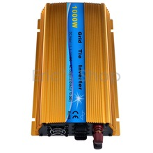 1000W Grid Tie Inverter DC10.5V-30V to AC220V Pure Sine Wave Inverter Fit For 18V Panel 36cells CE ROHS Inverter