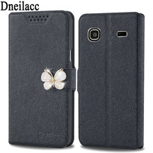 Lots style For Samsung Galaxy Gio S5660 mobile phone case new luxury flip cover with three kinds of diamond buckle(China)