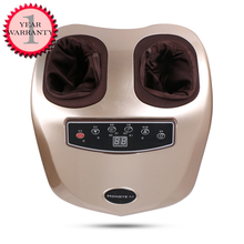 220V HONGYE foot massager electric machine For Health Care Personal Air Pressure Shiatsu Infrared Foot Massager With heating