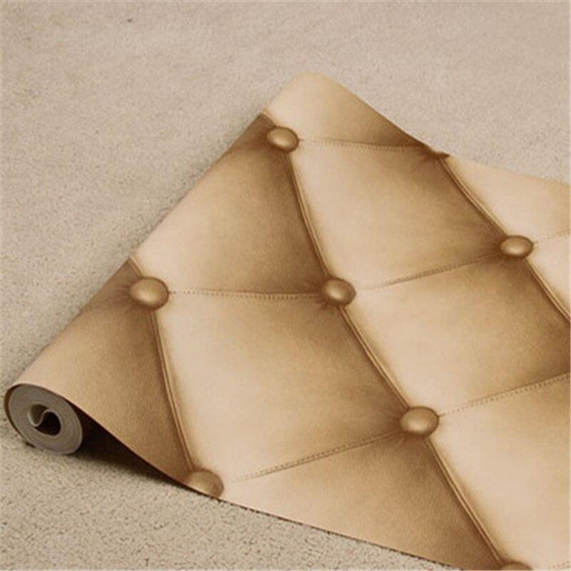 beibehang Fashion Rhombic Pattern 3D Wallpaper KTV Box Entertainment Hotel Decoration Wall Paper Plaid Wallpapers Papel de P<br>