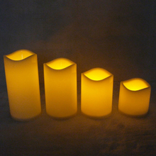 Flameless LED Tea Light Candles Light Lamp Realistic Battery-Powered Flameless Candles for Wedding Birthday Party Home