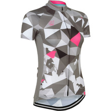 Women NEW Hot 2017 ice Gray JIASHUO BIKE WEAR hot / road RACE Team Bicyle Pro Cycling Jersey / Clothing / Wear Breathing Air