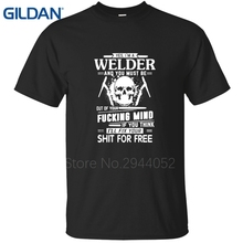 Avoid Injury Don't Tell Me How To Do My Job Welder jersey Custom man black Tees Comfortable O Neck tshirt online shop(China)