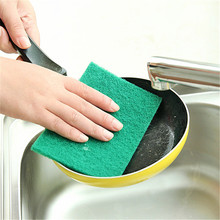 10 Pcs Polyester Fiber Dish Cleaning Cloth Kitchen Accessories Sponge Eraser Duster Wipes Clean Microfiber Melamine Nano 15*10cm