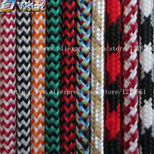 2*0.75 Copper Cloth Covered Wire Vintage Style Edison Light Lamp Cord Grip Twisted Fabric Lighting Flex Electric Cable+accessory