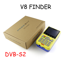 freesat V8 finder 3pcs lcd display digital finder dvb s2 dvb s HD 3.5 inch digital satellite meter satlink ws6906