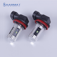 2 x For Toyota Highlander Yaris   Etc  H11 High Power w/ CREE CHIPS   25W Car special front fog lamps LED Fog Lights lamps Bulb