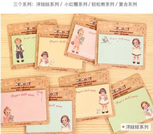 NEW Korea stationery Pretty kawaii cartoon Sticker Post It Bookmarker memo pad flags sticky note(China)
