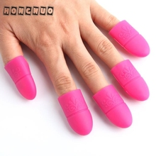 Beauty Girl 10Pcs/lot Silica gel Nail Remover Gel Polish Nail Art Soak Off UV Gel Art Polish Remover Wrap Cap Gift Sep 12
