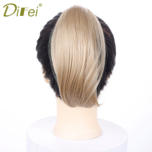 Buy Synthetic Short Straight Ponytail Hair Claw Hair 12 Colors Ponytail High Temperature Fiber Short Hair Ponytail Women DIFEI for $5.28 in AliExpress store