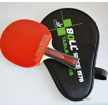 Hot sell Brand Quality Table Tennis Rackets Pimples-in Rubber Bat for Fast Attack and Loop or Chop Type Player Low Price Racket