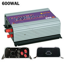 600W On Grid Tie Inverter with Dump Load for 3 Phase AC Wind Turbine Generator MPPT 600W Pure Sine Wave Wind  Grid Inverter