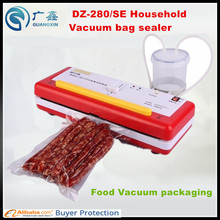 Free Shipping DZ280/SE Household Mini Multi-Functional Vacuum Food Packing Machine DryorWet small vacuum packager vacuum sealer(China)
