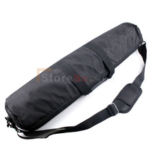 55cm Padded Camera Monopod Tripod Carrying Bag Case with Shoulder strap For Manfrotto GITZO SLIK Free shipping(China)