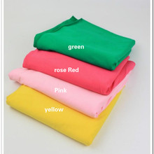 4 way stretchy Cotton lycra Knitted fabric by half meter DIY sewing summer clothing making cotton fabric 50*180cm