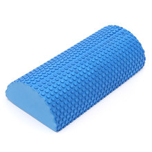 30cm Half Round EVA foam Yoga roller Pilates Fitness Foam Roller Gym Exercise Fitness Yoga Blocks With Massage Floating Point