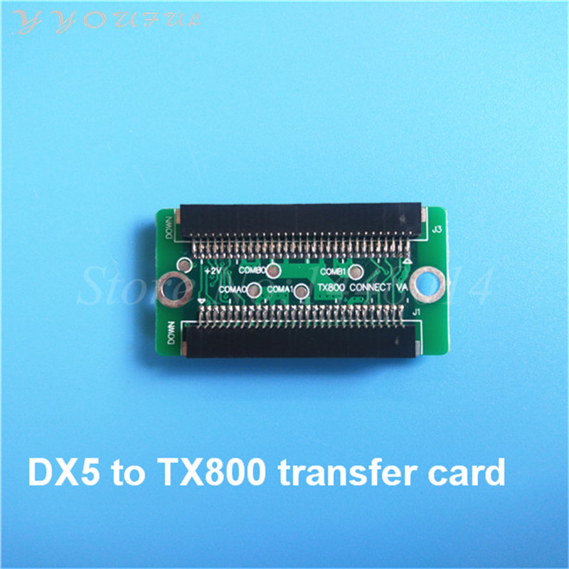 1pc wholesale wide format plotter DX5 change to TX800 XP600 chip adapter /for Epson DX5 adapting into DX10 F192 printhead card title=