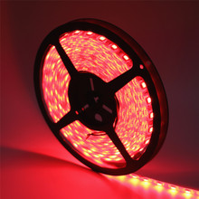 SMD 5050 LED Strip 5M 60leds/m DC 12V Flexible Ribbon Diode Tape RGB/White/Warm White/Red/Green/Blue/Yellow LED Rope lamp light