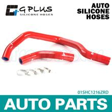Silicone Radiator Heater Hose Fit For FOR 97-04 FORD MUSTANG GT/SVT V8  RED