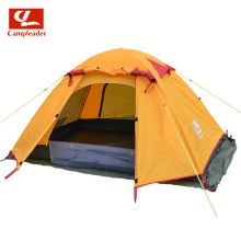 outdoor professional tent Double bunk outdoor tent aluminum pole fishing, waterproof mountain climbing, wind hiking tent