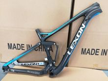 2017 LEXON TORAY Carbon fiber dual suspension frame/ XC MTB suspension frame /27.5er carbon MTB bike frame/BIKE FRAME WITH SHOCK